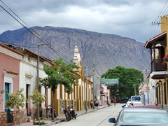 Colonial streets of Cafayate, home to some of Argentina's best wines