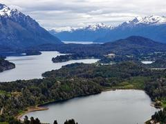 Phenomenal views from the top of Cerro Campanario; Bariloche