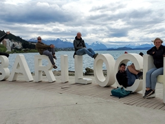 Hanging out in Bariloche with Jason, Ivan and Hanna