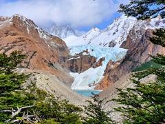 Piedras Blancas glacier viewpoint