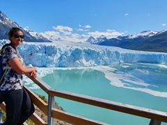 Stunning weather on our visit to Perito Moreno glacier