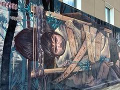 Street art; Ushuaia