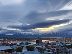 Ushuaia at dusk