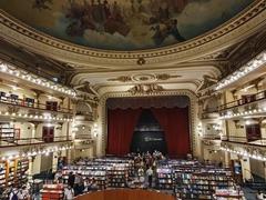 Interior of El Ateneo Grand Splendid, a bookstore built into the 1919 Grand Splendid theater