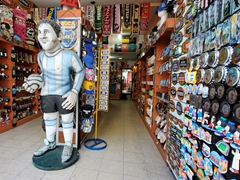 Typical souvenir store; Caminito