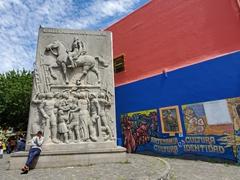 General Don Jose de San Martin monument; Caminito
