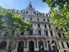 We love the architecture on Avenida de Mayo; Buenos Aires