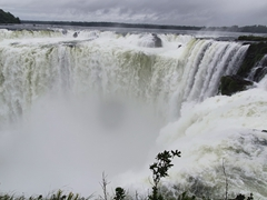 Garganta del Diablo (devil's throat); Iguazu Falls