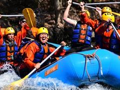 Whitewater rafting; Pasaje o Juramento River