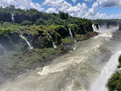 Another vantage point of the amazing Iguaçu Falls