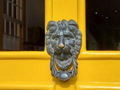 Lion door knocker; Paraty
