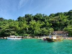 Stunning islands near Paraty
