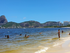 View of Rio from Flamengo Beach