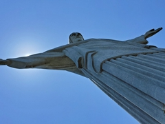 What we actually saw at the Christ the Redeemer statue