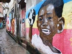 Street art in Rocinha Favela