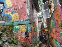 Certain sections of the favela tour were strictly off limits to photography but other parts were OK