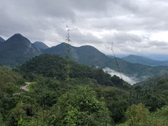 Gorgeous vista on our drive from Teresopolis to Congonhas