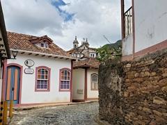 Walking around Ouro Preto was a delight