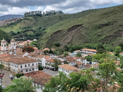Lovely Ouro Preto is known for its Baroque Portuguese colonial architecture. We thought it was the prettiest town in Brazil!