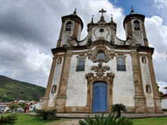 Church of Saint Francis of Assisi, one of Ouro Preto's 13 churches