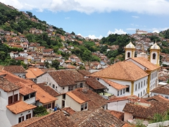 View of Our Lady of Conceicao church; Ouro Preto