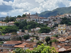 Panorama of Ouro Preto from the Church of Santa Efigenia