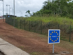 "Entering ""France"" while in South America - Welcome to French Guiana, an overseas department of France"