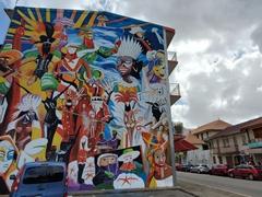 Carnival mural; Cayenne