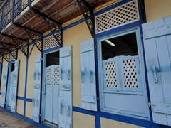 Exterior of the Musée des Cultures Guyanaises; Cayenne