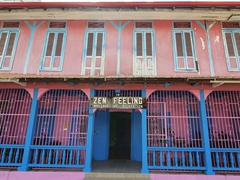 French colonial architecture on display in Cayenne