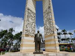 Felix Eboue Statue; Place des Palmistes