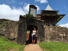 Fort Cépérou; Cayenne