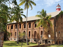 Penal colony hospital; Ile Royale