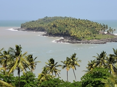 "View of the world's most infamous penal colony - Devil's Island, made famous by the book and movie ""Papillon"""