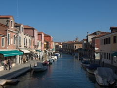 Fondamenta dei Vetrai (waterfront) where numerous Murano glass shops and workshops can be found