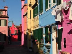 We loved the bold splashes of color seen in every corner of Burano!