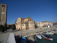The Church of Santa Maria e San Donato (believed to house the bones of the dragon slain by Saint Donatus); Murano