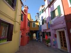 A colorful corner of Burano