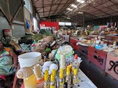 Traditional medicine market; Paramaribo