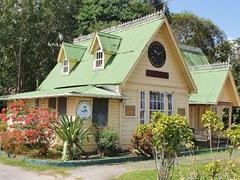 Welcome hut; Botanical Garden in Georgetown