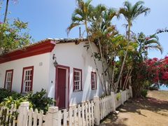 Beautiful house in Porto Seguro's old historical town