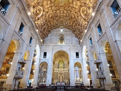 Interior of the Cathedral Basilica of Salvador