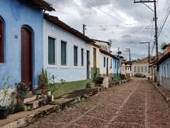 Cobblestone streets of Lençóis