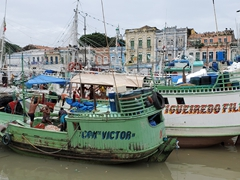 Fishing boats; Belem