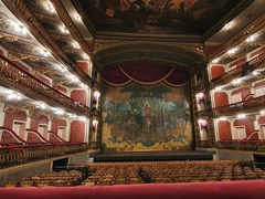 Interior of the Theatro da Paz; Belem