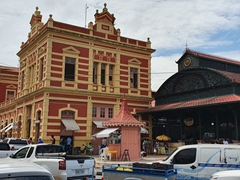 The Adolpho Lisboa Market, a municipal market overlooking the Rio Negro in Manaus
