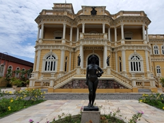 Rio Negro Palace - the former residence of the governor of Manaus
