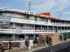 O Rei Davi - our floating home for a week as we make our way from Manaus, Brazil to Leticia, Colombia