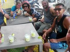 Three cocktails in three countries challenge - drinking caipirinhas in Brazil