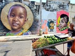 Fruit vendor; Cartagena